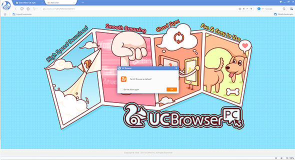 UC Browser Comes To Windows